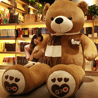 big teddy bear to china
